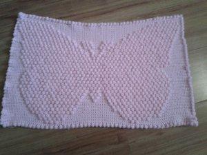 3D Butterfly Blanket Free Crochet Pattern