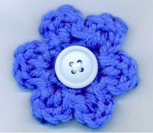 5 Minute Flower Free Crochet Pattern