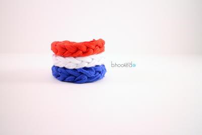 5 Minute Jersey Tee Bracelet Free Crochet Pattern
