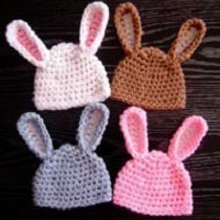 Adorable Baby Bunny Hat Free Crochet Pattern