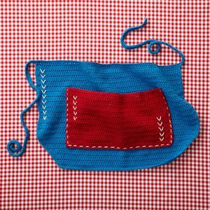 All-American Apron Free Crochet Pattern