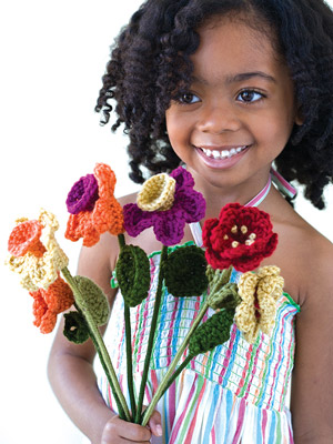 Always Blooming Bouquet Free Crochet Pattern