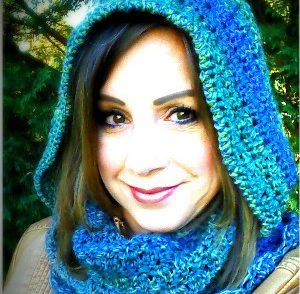 Amazing Grace Hooded Scarf Free Crochet Pattern