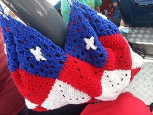 America the Beautiful Bag Free Crochet Pattern