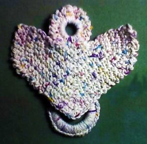 Angel Towel Holder Free Crochet Pattern