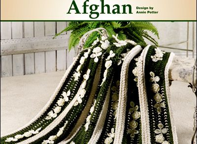 Annie's Irish Lace & Roses Afghan Free Crochet Pattern