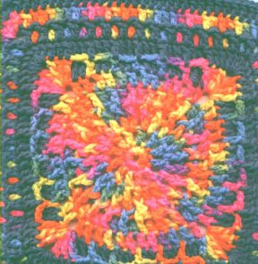 Autumn Warmth Granny Square Free Crochet Pattern