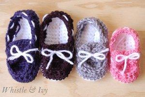 Baby Boat Booties Free Crochet Pattern