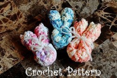 Baby Bunny Wash Cloth Free Crochet Pattern