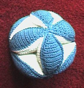 Baby Grab Ball Free Crochet Pattern