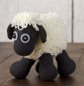Baby Soft Sheep Toy Free Crochet Pattern