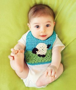 Baby's Favorite Bib Free Crochet Pattern