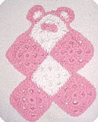 Baby's First Teddy Bear Snuggly Free Crochet Pattern