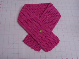 Basic Neckwarmer Free Crochet Pattern