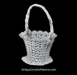 Basket Free Crochet Pattern