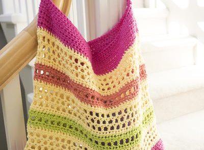 Beach Tote Bag Free Crochet Pattern