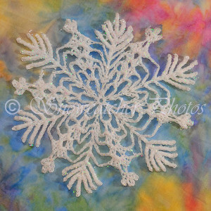 Beautiful Snowflake Free Crochet Pattern