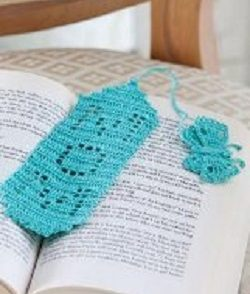 Bookmark for Mom Free Crochet Pattern