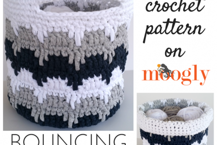 Bouncing Basket Free Crochet Pattern
