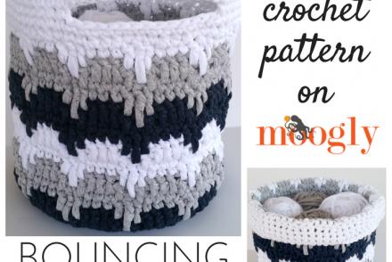 Bouncing Basket Free Crochet Pattern