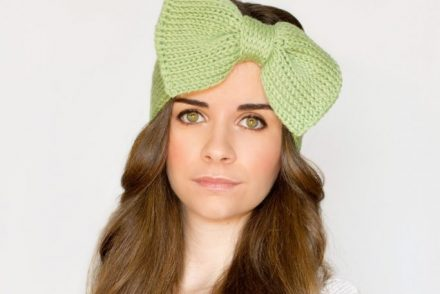 Bow Headband Free Crochet Pattern