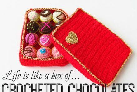 Box of Chocolate Free Crochet Pattern