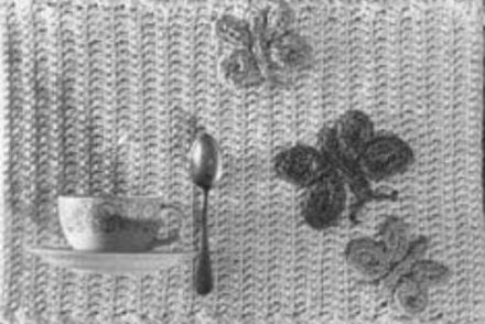 Butterfly Placemats Free Crochet Pattern