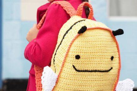 Buzzy Bee DIY Backpack Free Crochet Pattern