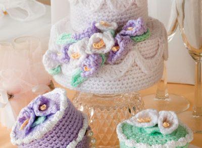 Cake Boxes Free Crochet Pattern