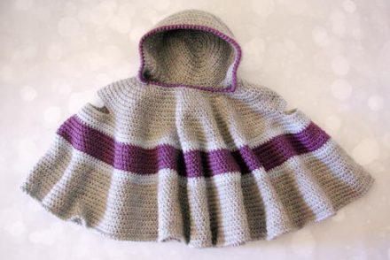 Car Seat Cloak Free Crochet Pattern