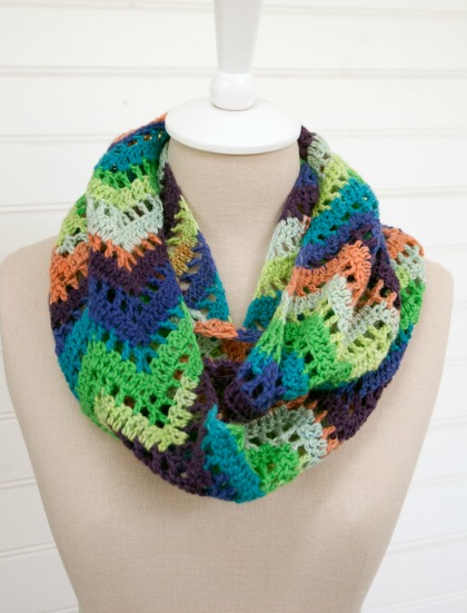 Chevron Infinity Scarf Free Crochet Pattern Craft Ideas For Adults
