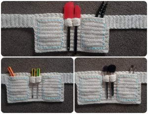Child Apron Tool Belt Free Crochet Pattern