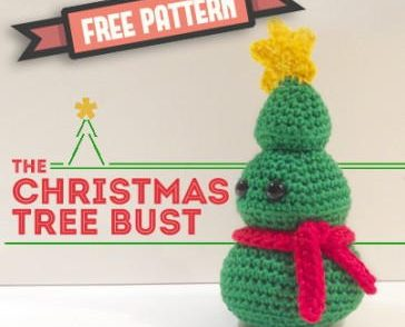 Christmas Tree Amigurumi Free Crochet Pattern