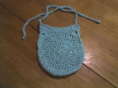 Circle Baby Bib Free Crochet Pattern