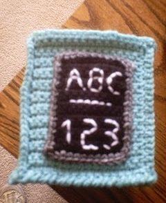 Classroom Kleenex Box Cover Free Crochet Pattern