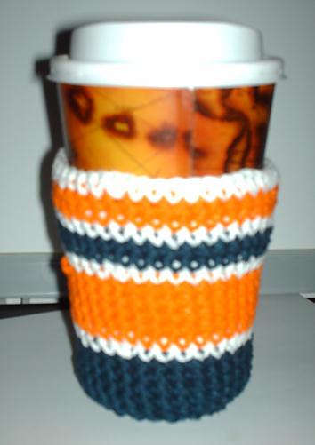 Coffee Sleeve Free Crochet Pattern