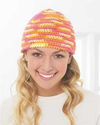 Cool Spring Hat Free Crochet Pattern