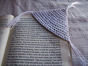 Corner Bookmark Free Crochet Pattern