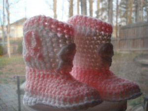 Country Cowboy Boots Booties Free Crochet Pattern