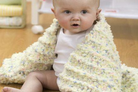 Coziest Baby Blanket Free Crochet Pattern