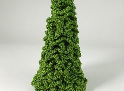 Crafty Christmas Tree Free Crochet Pattern