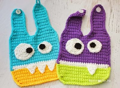 crochet-monster-baby-bibs-free-crochet-pattern