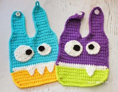 crochet-monster-baby-bibs-free-crochet-pattern