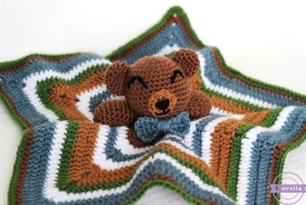 Cuddliest Crochet Bear Lovey Free Crochet Pattern