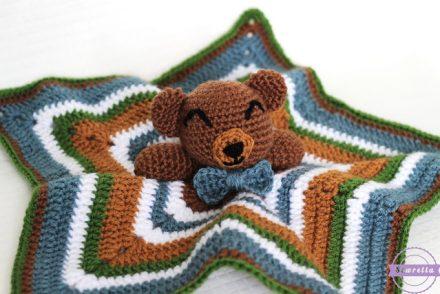 Cuddliest Crochet Bear Lovey Free Crochet Pattern