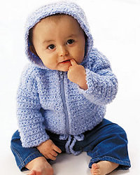 Cute Baby Cardigan Sweater Free Crochet Pattern