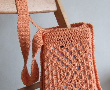 Cute Book Bag Free Crochet Pattern
