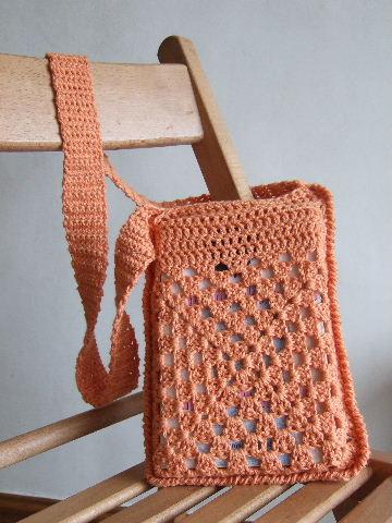 Cute Book Bag Free Crochet Pattern