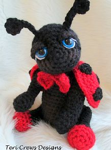 Cute Lady Bug Free Crochet Pattern