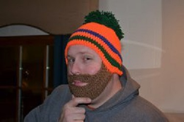 Dads Beard Hat Free Crochet Pattern